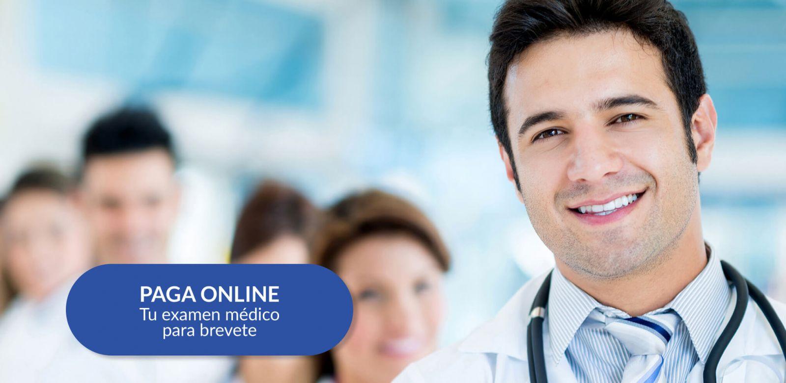 pago online examen medico brevete