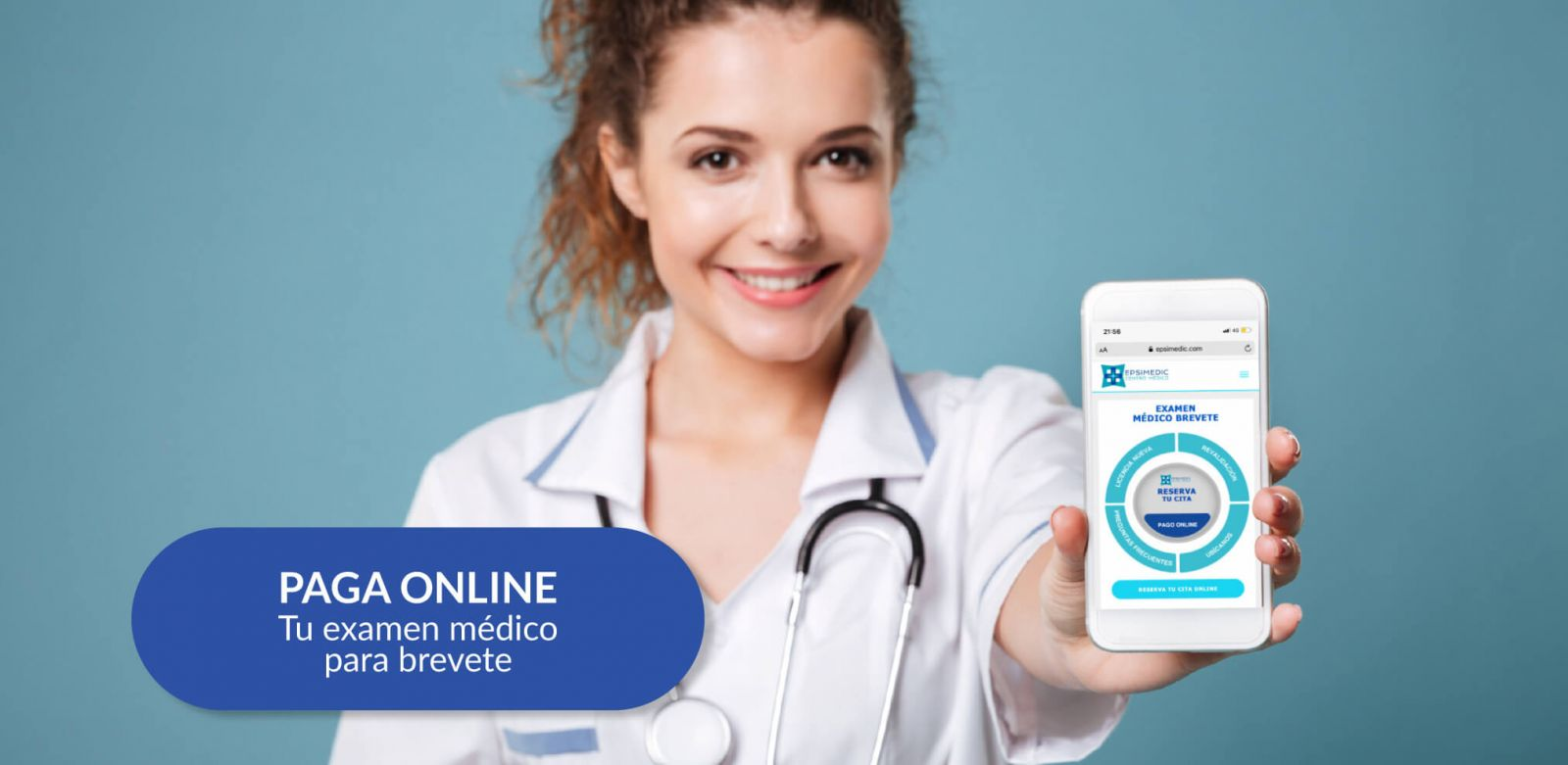 Pagar online examen medico para brevete